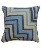 RugStudio presents Jaipur Rugs Cadiz Andalusia Pillow Cd09 Denim Blue / Natural