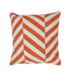 RugStudio presents Jaipur Rugs Cadiz Medina Pillow Cd12 Orange / Natural