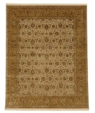 RugStudio presents Jaipur Rugs Aurora Celeste AR02 Medium Ivory/Royal Gold Hand-Knotted, Good Quality Area Rug