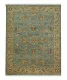 RugStudio presents Jaipur Rugs Ankar Cennet AK07 Sea Blue/Dark Ivory Hand-Knotted, Good Quality Area Rug