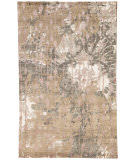 RugStudio presents Jaipur Rugs Connextion By Jenny Jones - Global Cg15 Dark Taupe/Ashwood Hand-Knotted, Good Quality Area Rug