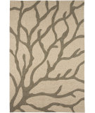 RugStudio presents Jaipur Rugs Coastal Living Indoor-Outdoor Coral CI09 White/White Hand-Hooked Area Rug