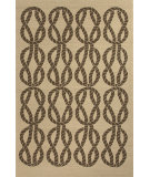 RugStudio presents Jaipur Rugs Coastal I-O Roped In Ci22 Beige/Light Brown Hand-Hooked Area Rug