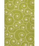 RugStudio presents Jaipur Rugs Coastal I-O Nautilus Ci25 Green/White Hand-Hooked Area Rug