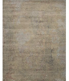 RugStudio presents Jaipur Rugs Chaos Theory By Kavi Naga Ckv05 Fog Hand-Knotted, Good Quality Area Rug