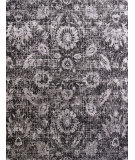 RugStudio presents Jaipur Rugs Chaos Theory By Kavi Gaya Ckv06 Liquorice/Frost Gray Hand-Knotted, Good Quality Area Rug