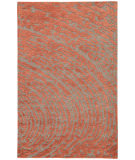 RugStudio presents Rugstudio Sample Sale 102820R Medium Gray & Russet Hand-Tufted, Good Quality Area Rug