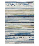 RugStudio presents Jaipur Rugs Colours Sketchy Lines Co08 Classic Gray Hand-Hooked Area Rug