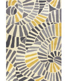 RugStudio presents Jaipur Rugs Colours Whirligig Co12 Yellow Hand-Hooked Area Rug