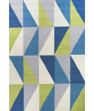 RugStudio presents Jaipur Rugs Colours Right Angle Co14 Blue Area Rug