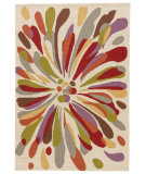 RugStudio presents Jaipur Rugs Colours Flowerburst Co15 Beige/Multi Area Rug