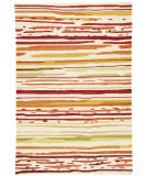 RugStudio presents Jaipur Rugs Colours Sketchy Lines Co18 Red/White Area Rug