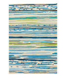 RugStudio presents Jaipur Rugs Colours Sketchy Lines Co19 Blue/White Area Rug