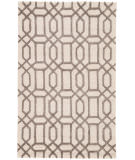RugStudio presents Rugstudio Sample Sale 74813R Antique White / Liquorice Hand-Tufted, Good Quality Area Rug
