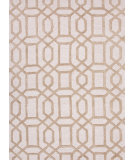 RugStudio presents Rugstudio Sample Sale 74814R Antique White / Lead Gray Hand-Tufted, Good Quality Area Rug
