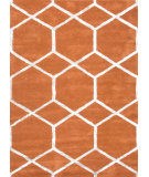 RugStudio presents Rugstudio Sample Sale 74815R Orange Spice Hand-Tufted, Good Quality Area Rug