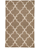 RugStudio presents Rugstudio Sample Sale 74824R Mushroom / Antique White Hand-Tufted, Good Quality Area Rug