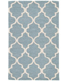 RugStudio presents Rugstudio Sample Sale 103002R Aegean Blue Hand-Tufted, Good Quality Area Rug