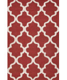 RugStudio presents Jaipur Rugs City Miami Ct31 Velvet Red Hand-Tufted, Good Quality Area Rug