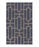 RugStudio presents Jaipur Rugs City Dallas Ct37 Deep Navy Hand-Tufted, Good Quality Area Rug