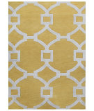 RugStudio presents Rugstudio Sample Sale 103073R Bright Yellow Hand-Tufted, Good Quality Area Rug