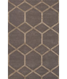 RugStudio presents Jaipur Rugs City Chicago Ct49 Liquorice/Gray Brown Hand-Tufted, Good Quality Area Rug