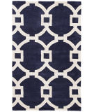 RugStudio presents Jaipur Rugs City Regency Ct51 Deep Navy/White Hand-Tufted, Good Quality Area Rug