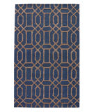 RugStudio presents Jaipur Rugs City Bellevue Ct52 Deep Navy/Dark Gray Hand-Tufted, Good Quality Area Rug