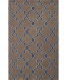 RugStudio presents Jaipur Rugs City Philadelphia Ct55 Dark Taupe/Ensign Blue Hand-Tufted, Good Quality Area Rug