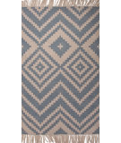 RugStudio presents Jaipur Rugs Desert Yuma Des04 Denim Flat-Woven Area Rug