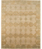 RugStudio presents Rugstudio Sample Sale 63806R Dark Ivory Hand-Knotted, Good Quality Area Rug