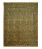 RugStudio presents Jaipur Rugs Ankar Elmas AK09 Sand/Wheat Hand-Knotted, Good Quality Area Rug