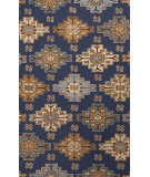 RugStudio presents Jaipur Rugs Explorer Wayward Exr02 Deep Navy Hand-Tufted, Good Quality Area Rug