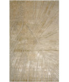 RugStudio presents Jaipur Rugs Downtown Raymond Fan Out Dt03 Antique White Hand-Knotted, Good Quality Area Rug