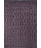 RugStudio presents Jaipur Rugs Fables Valiant Fb39 Chenille Dark Violet Machine Woven, Good Quality Area Rug