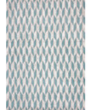 RugStudio presents Jaipur Rugs Foundations By Chayse Dacoda Arrow Head Fc06 Light Turquoise Hand-Tufted, Good Quality Area Rug