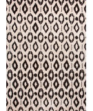 RugStudio presents Jaipur Rugs Foundations By Chayse Dacoda Ikat Dot Fc12 Cloud White / Deep Charcoal Hand-Tufted, Good Quality Area Rug