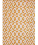 RugStudio presents Jaipur Rugs Foundations By Chayse Dacoda Ikat Dot Fc15 Cloud White / Golden Apricot Hand-Tufted, Good Quality Area Rug
