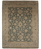 RugStudio presents Jaipur Rugs Opus Fleur Op23 Stone Blue Hand-Knotted, Best Quality Area Rug