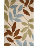 RugStudio presents Jaipur Rugs Fusion Ivy League FN15 Dark Ivory/Dark Ivory Hand-Tufted, Better Quality Area Rug