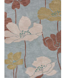 RugStudio presents Jaipur Rugs Fusion Shangri-La Fn19 Iced Slate Hand-Tufted, Good Quality Area Rug