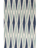 RugStudio presents Jaipur Rugs Fusion Karil Fn22 True Navy & Pale Gray Hand-Tufted, Good Quality Area Rug