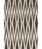 RugStudio presents Jaipur Rugs Fusion Karil Fn23 Deep Charcoal & Cocoa Brown Hand-Tufted, Good Quality Area Rug