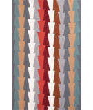 RugStudio presents Jaipur Rugs Fusion Stairstep Fn27 Gray Hand-Tufted, Good Quality Area Rug