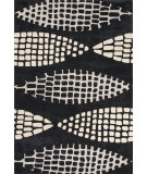 RugStudio presents Jaipur Rugs Fusion Seeds Fn30 Black/Beige Hand-Tufted, Good Quality Area Rug