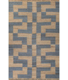 RugStudio presents Jaipur Rugs Feza Blocked Fz07 Ensign Blue Flat-Woven Area Rug