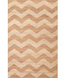 RugStudio presents Jaipur Rugs Feza Abhi Fz09 Ivory Cream & Wheat Flat-Woven Area Rug