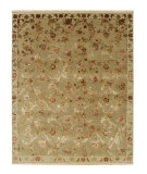 RugStudio presents Jaipur Rugs Palatine Galiana PL06 Sage Green/Light Gold Hand-Knotted, Good Quality Area Rug