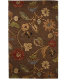 RugStudio presents Jaipur Rugs Blue Garden Party Bl45 Cocoa Brown Hand-Tufted, Better Quality Area Rug