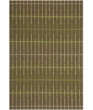 RugStudio presents Jaipur Rugs Grant Design I-O In Line GD13 Light Leaf Green/Light Leaf Green Hand-Hooked Area Rug